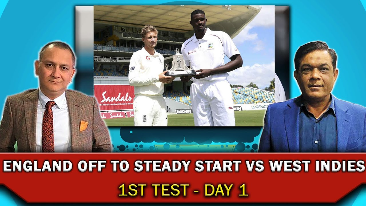 England Off To Steady Start vs West Indies | 1st - Day 1