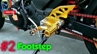 2 Foot step atau Underbon atau Bostep racing Satria Fu Fi