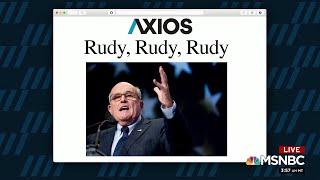 1 Big Thing: Rudy, Rudy, Rudy