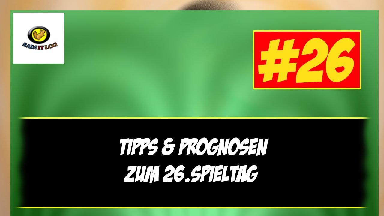 26 Bundesliga Spieltag