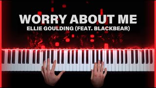 Ellie Goulding (Feat. Blackbear) - Worry About Me | Piano Cover By Brennan Wieland