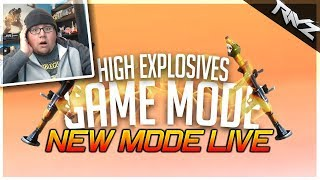 NEW HIGH EXPLOSIVES MODE LIVE w/ Hollowpoiint! New Fortnite Limited Mode Gameplay!