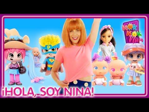 ¡NOK NOK NINA! ✨ El canal con tus JUGUETES favoritos: Bellies, Nancy, Pinypon y más!