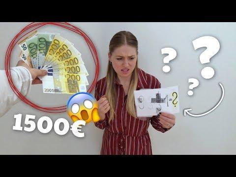 .. wenn du diese Frage richtig beantworten kannst, bekommst du 1500€ 😳 KEIN FAKE! | Bibi