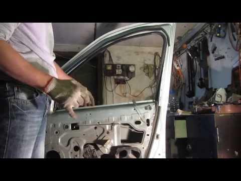 Замена бокового стекла передней двери на Рено Логан Renault Logan и Лада Ларгус