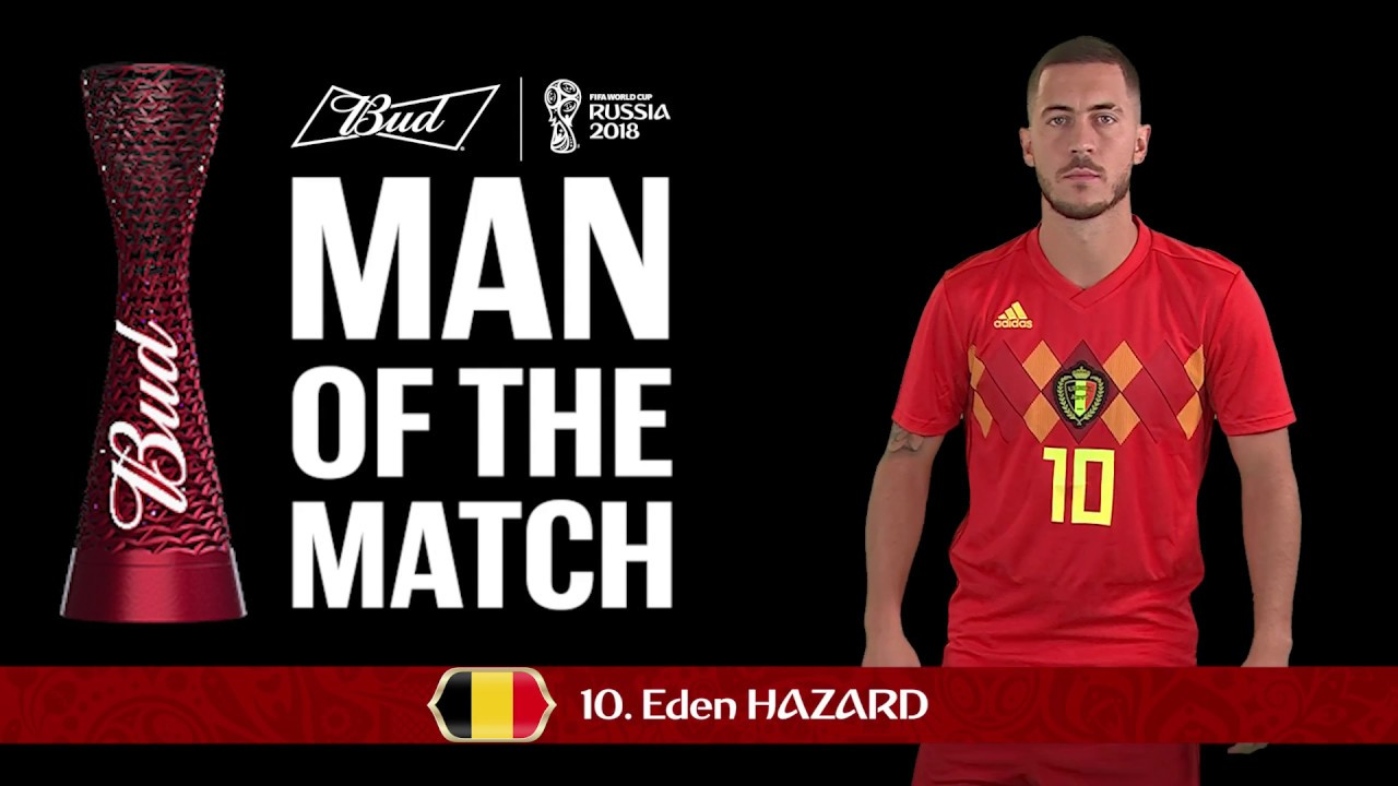 sale retailer 3f021 69ca0 Eden Hazard - Man of the Match - MATCH 63
