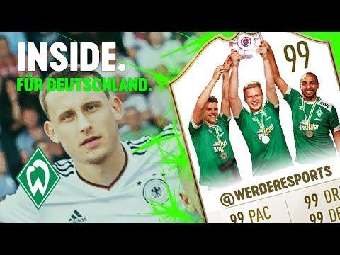Maxi Eggestein Nationalmannschaft & Werder eSports Deutscher Meister | WERDER.TV Inside vor Bayer 04