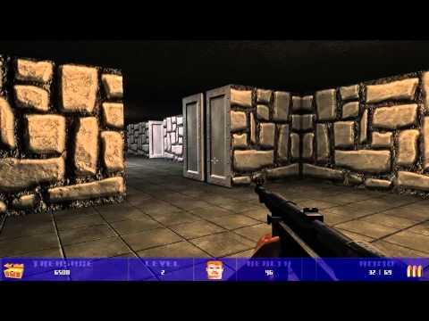 Wolfram: A Modern Wolfenstein 3D Remake Gameplay HD