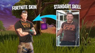 STANDART SKILL in PHOTOSHOP as FORTNITE SKIN 😵