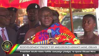 Redevelopment Project of Anglogold Ashanti Mine, Obuasi