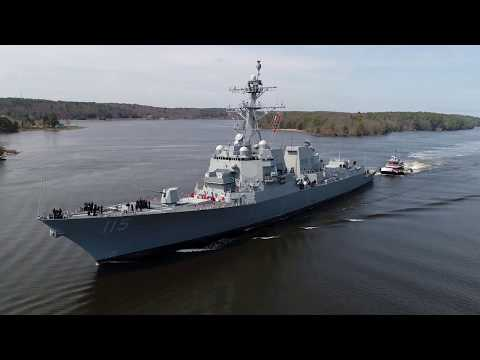 USS Rafael Peralta (DDG 115) Commissioning Preview