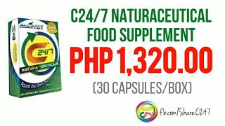 C24/7 Food Supplement: HOW TO ORDER?