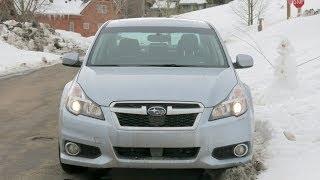 видео Subaru Legacy 2013