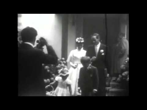 Audrey Hepburn and Mel Ferrer's Wedding 1954