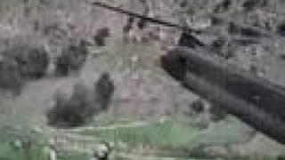 Chinook pinnacle landing