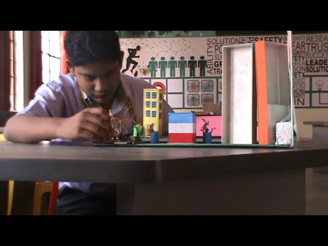Smart Dustbin- Modern Public School-ATL Marathon 2018