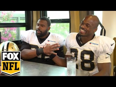 Adrian Peterson, Mark Ingram open up to Jay Glazer before 2017-18 NFL Season | FOX NFL