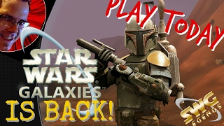 Star Wars Galaxies IS BACK 2017!!! ►SWG LEGENDS◄ NGE SERVER IS THE REAL DEAL.