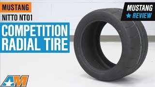 1979-2018 Mustang NITTO NT01 Competition Radial Tire (15-20