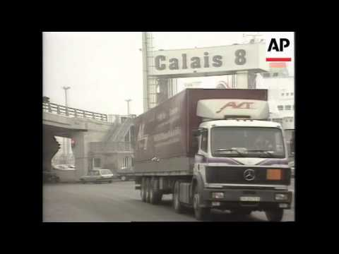 France- Ports Search Trucks For British Beef