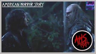 American Horror Story 1984 - Richard Ramirez and Mr. Jingles Fighting + Richard´s Resurrection Scene