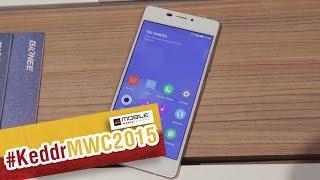 Gionee Elife S7 - первый взгляд на смартфон - MWC2015