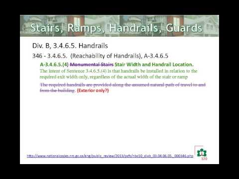 National Building Code - Part 9 Webinar - Nov 29, 2013