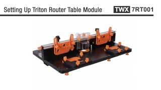 triton router table module instructions