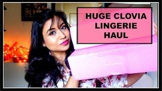 HUGE CLOVIA LINGERIE HAUL || ONLINE LINGERIE SHOPPING SITE