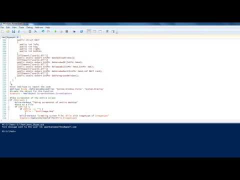 How to send a skype message using powershell - YouTube