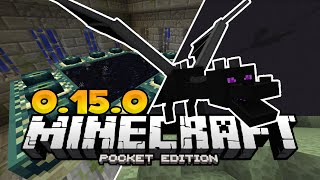 the end dimension in mcpe 0 15 0 minecraft pe pocket edition