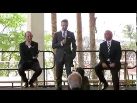 David Beckham confirms his US soccer team in Miami