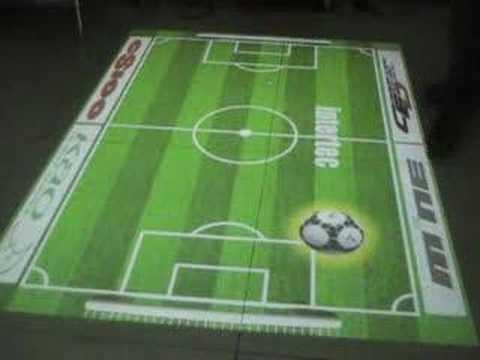 interactive floor projection system - youtube