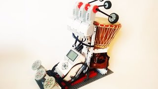 THE LEGO DJEMBE PLAYER! a lego music player by lego mindstorms ev3!