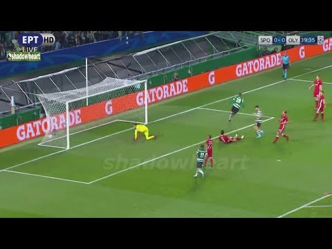 Σπόρτινγκ Λ.-Ολυμπιακός 3-1 Highlights / {CL} / {22/11/17}