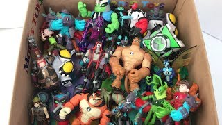FULL COLLECTION Ben 10 Season 3 Full Collection Rath XLR8 Wildvine Upgrade Hex