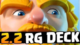 FASTEST ROYAL GIANT CYCLE DECK! 2.2 ELIXIR! BUT WHY!? | Clash Royale