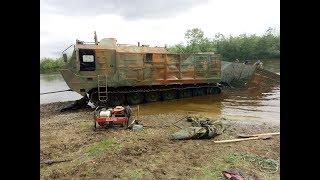 Достаём утопленный Витязь ДТ-30ПМН.