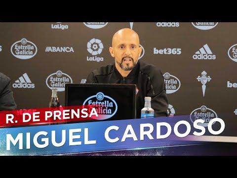 La previa de Cardoso: R.Sociedad - RC Celta