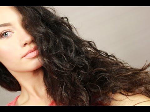 Как быстро уложить вьющиеся волосы | How to style curly hair