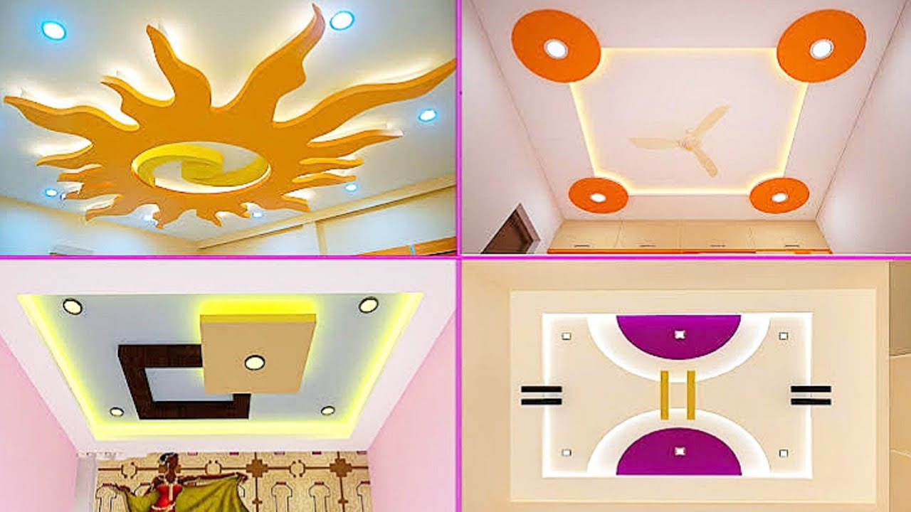 Modern Bedroom False Ceiling Design 2020 Latest Pop Designs For Bedroom Youtube