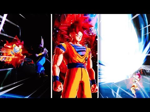 FIRST LOOK AT SSG GOKU IN DRAGON BALL LEGENDS! DB