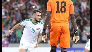 اول هدف دولي لـ بروا نوري مع المنتخب العراقي ضد كينيا ● مبارة وديه - ملعب البصره