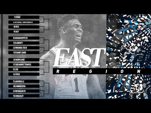 photo about March Madness Tv Schedule Printable identified as NCAA Match Printable Bracket: Extensive 2019 March