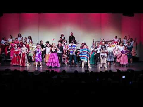 Toppenish High School Choir performs at Songfest 2016 — Part 3
