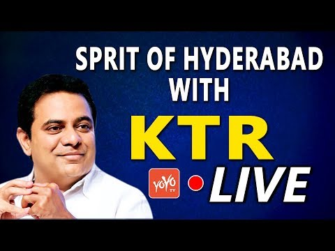 KTR LIVE | Spirit of Hyderabad | Business Network International (BNI) | Begumpet | YOYO TV Channel