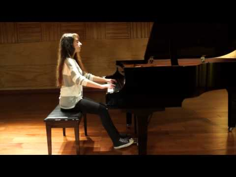 Claudia Roa - Concurso de Piano 2015, Nivel 2. Radio Beethoven