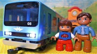 Поїзд Метро - Іграшки для хлопчиків - Відео про поїзди для дітей