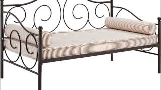 Dhp Victoria Metal Daybed, Twin, Bronze
