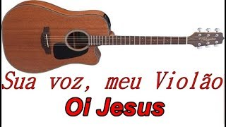 Baixar Sua voz, meu Violão. Oi Jesus - Isadora Pompeo. (Karaokê Violão)
